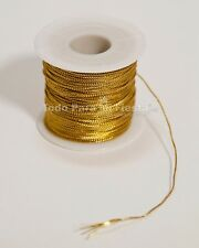 Gold Silver Ribbon String Wedding Craft Ribbon Quinceanera Baby Shower Baptism