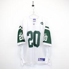 Mens Vintage REEBOK 00s New York JETS NFL Football Jersey #20 Thomas JONES   XL