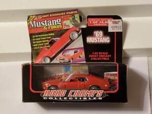 1969 Ford Mustang Road Champs 1:43 scale diecast new in box