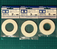2mm/3mm/5mm Masking Tape for Curves For Tamiya Model Tools Spray Paint Craft Set