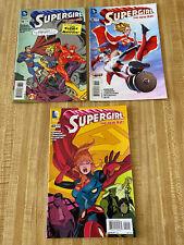 Supergirl Vol 6 #38 - #40 by Mike Johnson Kate Perkins (2015, DC Comics)