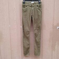 Current/Elliott THE LEGGING Dark Olive Women's Pants Size 26