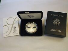 2005-W Proof American Silver Eagle Coin  - One Troy oz .999 Bullion