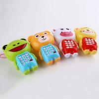 Baby Kids Toys Music Cartoon Phone Educational Developmental Luminous toy Gift