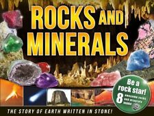 Rocks and Minerals Book and Gems Kit RRP £12.99