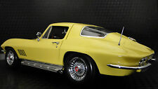 1 1966 Vette Corvette Chevy Sport Car 43 Vintage 18 Race 24 Carousel Yellow 12