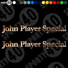 JOHN PLAYER SPECIAL - Vinyl Decals / Sticker - Motorbike CAR VAN JPS 2318-0619