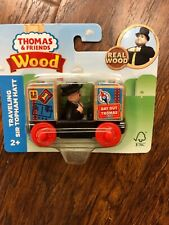Thamas The Train And Friends Real Wood Traveling Sir Topham Hatt