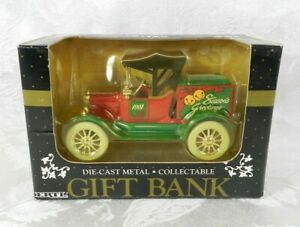 Ertl Gift Bank Die-Cast Metal Ford Season's Greetings Christmas 1991 9290