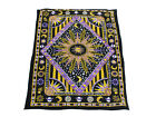 New Traditional Kantha Baby Quilt Cotton Gudri Reversible Toddler Bedspread