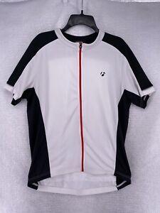 Bontrager Men's XL Starvos Short Sleeve Full Zip Cycling Jersey