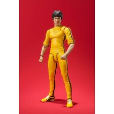 SHFiguarts Bruce Lee Yellow Track Suit 140mm Action Figure Bandai Game of Death