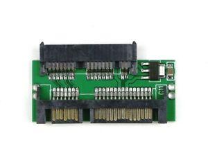 New 1.8 Micro SATA TO 7+15 2.5 inch SATA Adapter Converter Card Board Pad