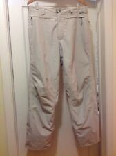 BURTON SKI Snow Board PANTS Woman Size Large 34 X 31