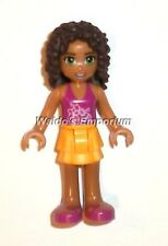 Lego Friends MiniFigure Andrea from the Heartlake Juice Bar 41035