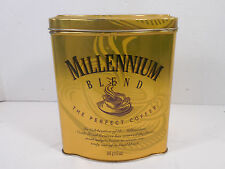 NESTLE FOODS MILLENIUM CELEBRATION BLEND THE PERFECT COFFEE TIN CAN CANNISTER