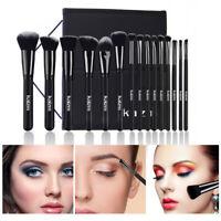 15pc Makeup Brushes Kit Set Powder Foundation Eyeshadow Eyeliner Lip Brush Tool