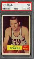 1957 TOPPS #67 JACK GEORGE PSA 5 *DS10065