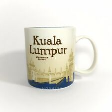 STARBUCKS Coffee Mug 16oz Global Icon City Collector KUALA LUMPUR V2 NEW w/ SKU