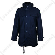 Brandit German Flag BW Cotton Warm Cosy Parka Coat Jacket - Navy