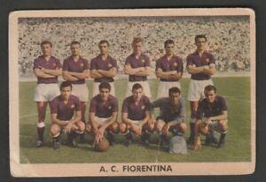 FIGURINA CALCIATORI ALBUM SIDAM 1959-60 FIORENTINA SQUADRA MAI ATTACCATA