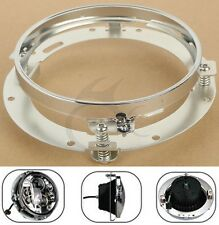 """7"""" Daymaker LED Headlight Mounting Ring Bracket Fit Harley Touring 1994-2013"""