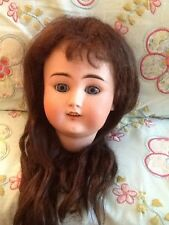 Antique Bisque Dolls Head BJ & Co My Sweetheart with original wig
