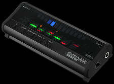 Korg Pitchblack PB-04-BK Stimmgerät für E-Gitarre und E-Bass 6 Saitenanzeige