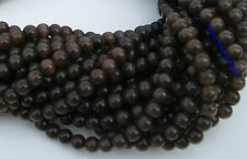 20pcs Coffee Round Cat's eye Gemstone Beads 8mm SH245