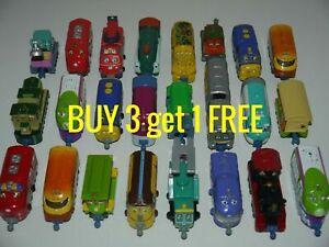 Chuggington Diecast Trains Carry Cases Single Bundle Lot Choice_BUY 3 get 1 FREE