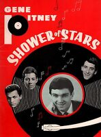GENE PITNEY / THE CRYSTALS SHOWER OF STARS TOUR CONCERT PROGRAM BOOK / EX 2 NMT