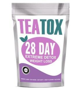 Teatox 28 Tage Detox, Gewichtsverlust, natürliches Produkt, Fettverbrennung