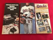 1980-2018 MLB Chicago White Sox media guide / You pick 'em / Fisk / Thomas