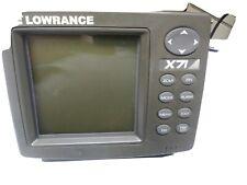 Lowrance X71 fish finder