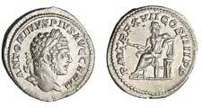Rome - Caracalla - Denier (214, Rome) - Apollon