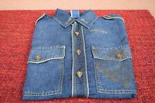 Jean Paul Gaultier men's/unisex denim shirt L
