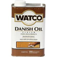 Watco Danish Oil, Red Mahogany