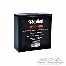 Rollei RPX 400 B&W 35mm Film - 100ft/30.5m Bulk - Brand New Freshest UK Stock!