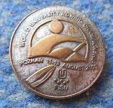 FISU WORLD UNIVERSITY CHAMPIONSHIPS ROWING POLAND city POZNAN 2000 PIN BADGE