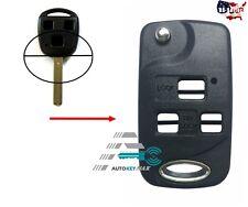 Upgrade Flip Folding Remote Key Fob Case Shell For Lexus ES300 ES330 LS400 LS430