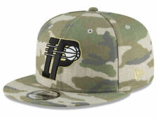 pretty nice 09cec 59777 camo INDIANA PACERS NBA Basketball NEW ERA 9FIFTY Camouflage Snapback Hat  NWT 32