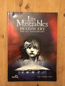 West End Theatre Brochure Les Miserables 25th Concert Alfie Boe Matt Lucas Barks