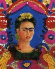Print -   The Frame (painting) - by Frida Kahlo
