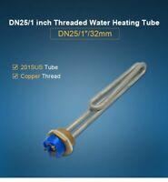 Foldback Screw In Electric Water Heater Element NPT Thread 1KW - 6KW Stainless
