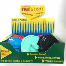 Unisex Plastic Hair Massages/Scalp Brushes