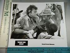 Rare Original VTG Clint Eastwood Hang 'Em High United Artists Movie Photo Still
