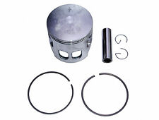 Yamaha RS125 RS125DX piston kit (1975-1981) + 1.00mm o/s, 57.00mm bore size, new