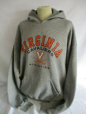 Hoodie, Virginia Cavaliers, Size XL, Grey, Long Sleeve Hoodie, 68 cm Chest