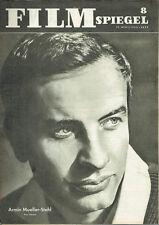 Film Miroir Armin Mueller-Stahl HELGA GÖRING avril 1962 Nr 8 (fs512)