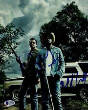 JAMES PUREFOY MICHAEL K WILLIAMS SIGNED HAP AND LEONARD 8X10 PHOTO AUTOGRAPH COA